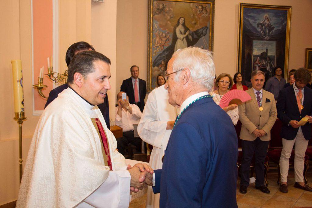 Luis Martin felicitado