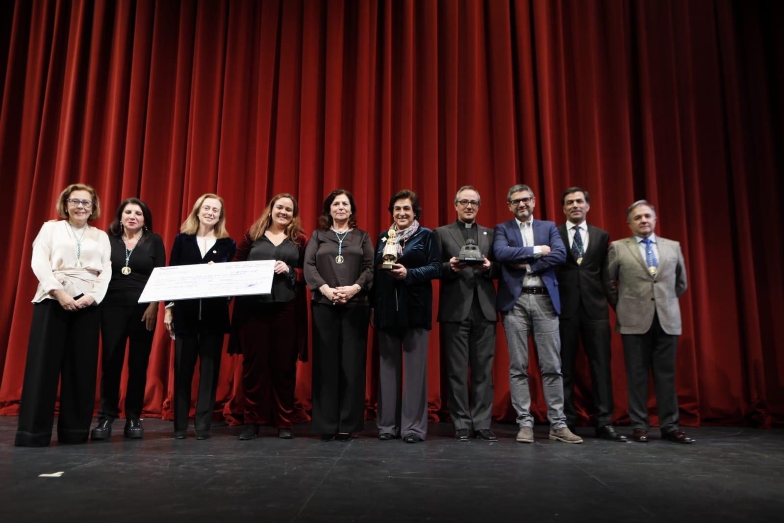 La Hospitalidad de Lourdes recibe el Premio de la Paz a los Valores Humanos 2020