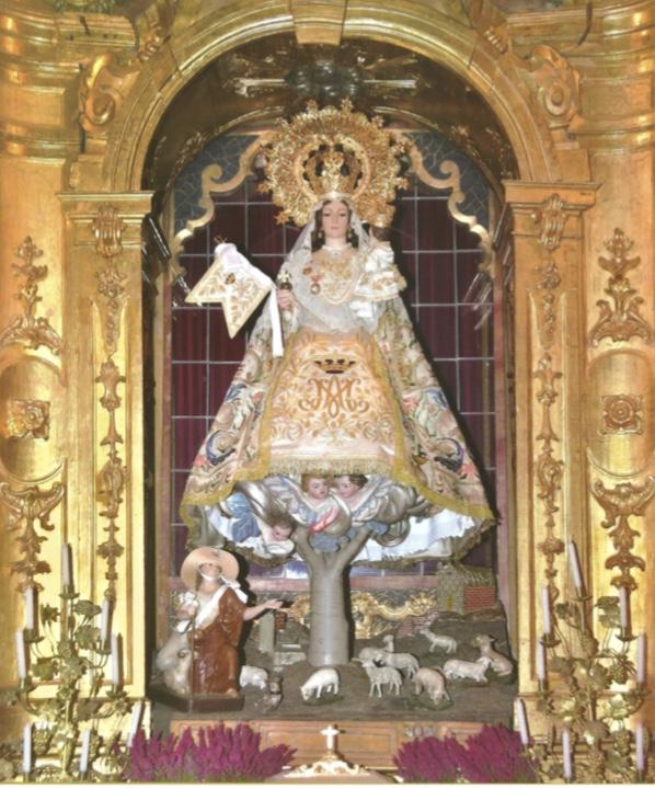La Virgen de la Paz visita la parroquia  de la Moraleja este fin de semana