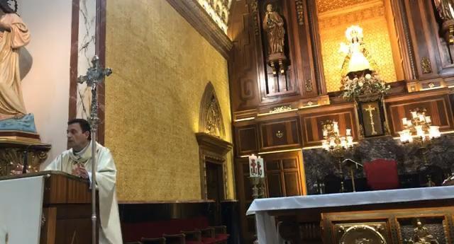 Eucaristías en directo desde la Iglesia de San Pedro Apóstol durante el confinamiento