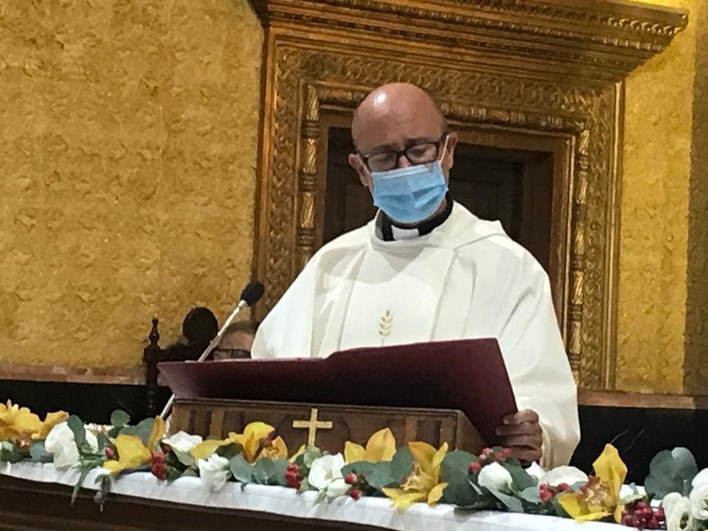 Don Enrique, nuevo capellán de la Hermandad Desde el 20 de septiembre